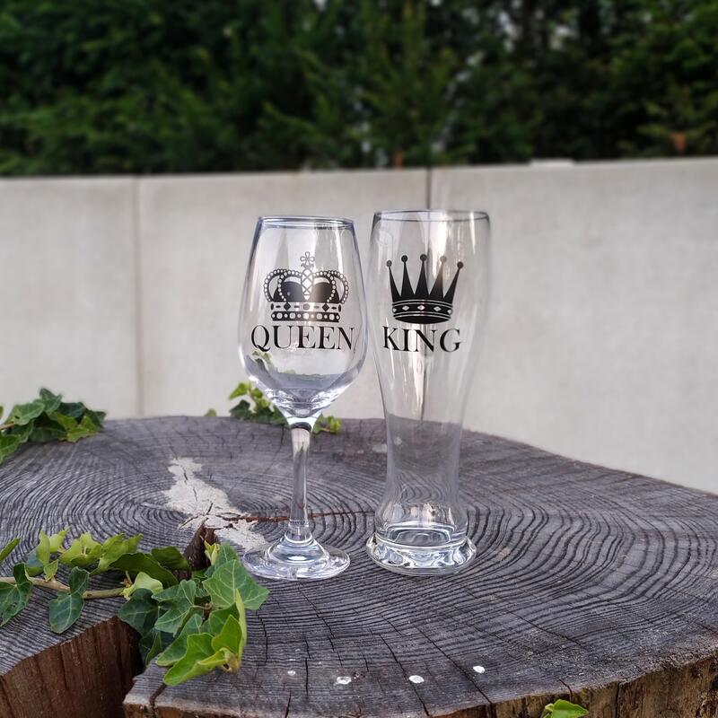 King & Queen Gläser