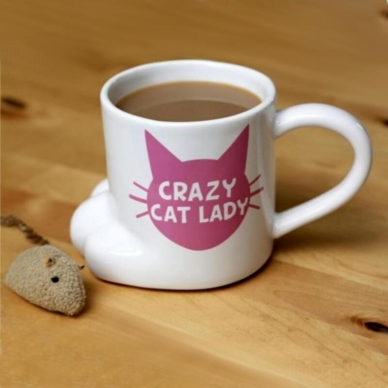 Crazy Cat Lady Kaffeebecher